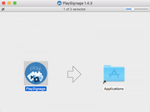 MAC Digital Signage Software