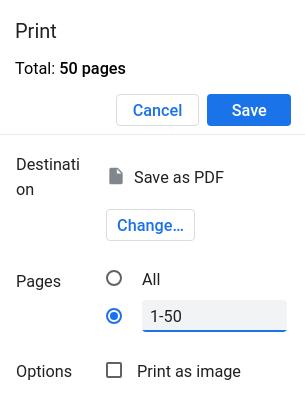 Splitting and truncating PDF files