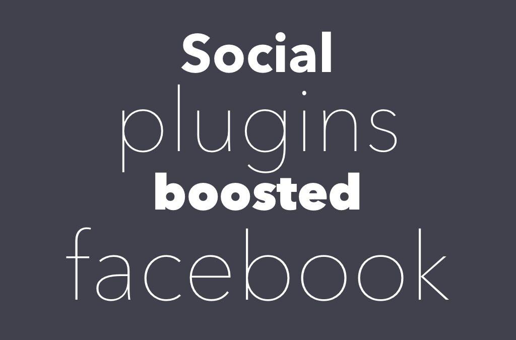 Facebook post plugin