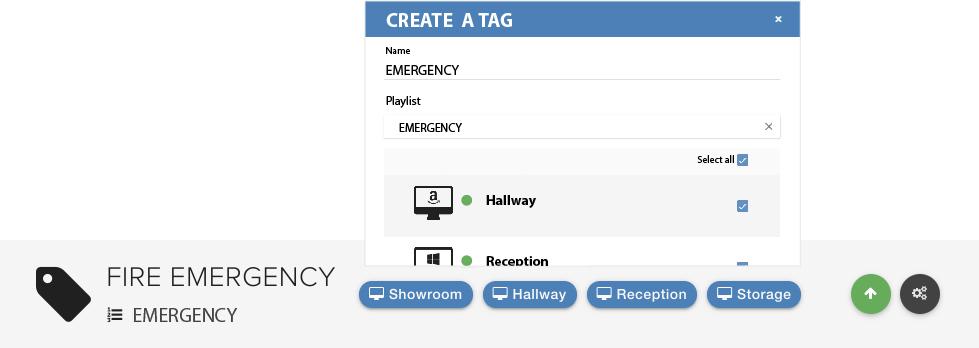 Create a tag