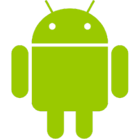 Android icon in color - Size 200x200