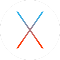 Mac OSX icon in color - Size 200x200