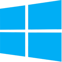Microsoft Windows icon in color - Size 200x200