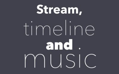 Stream, timeline, background music and multi language
