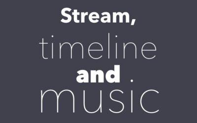 Stream, Timeline, Background Music and Multi-Language Digital Signage