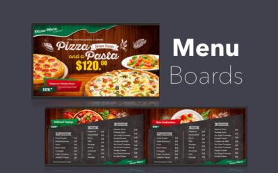 Using Play Digital Signage For Your Digital Menu Board