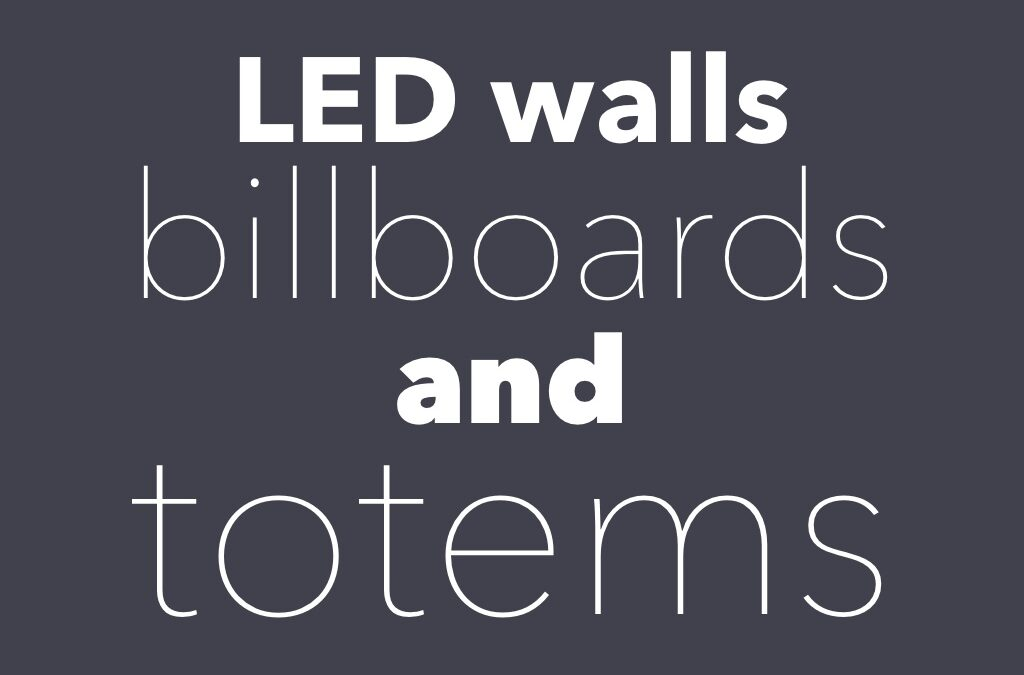 LED Screens – We have what you need!