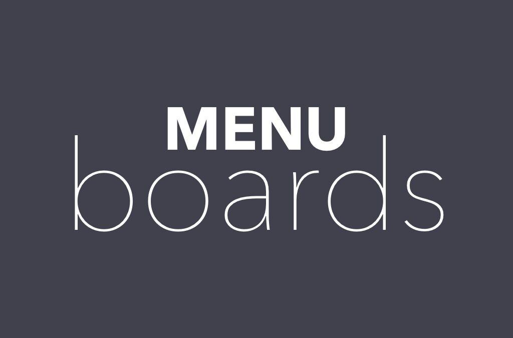 Using Play Digital Signage For Your Digital Menu Board