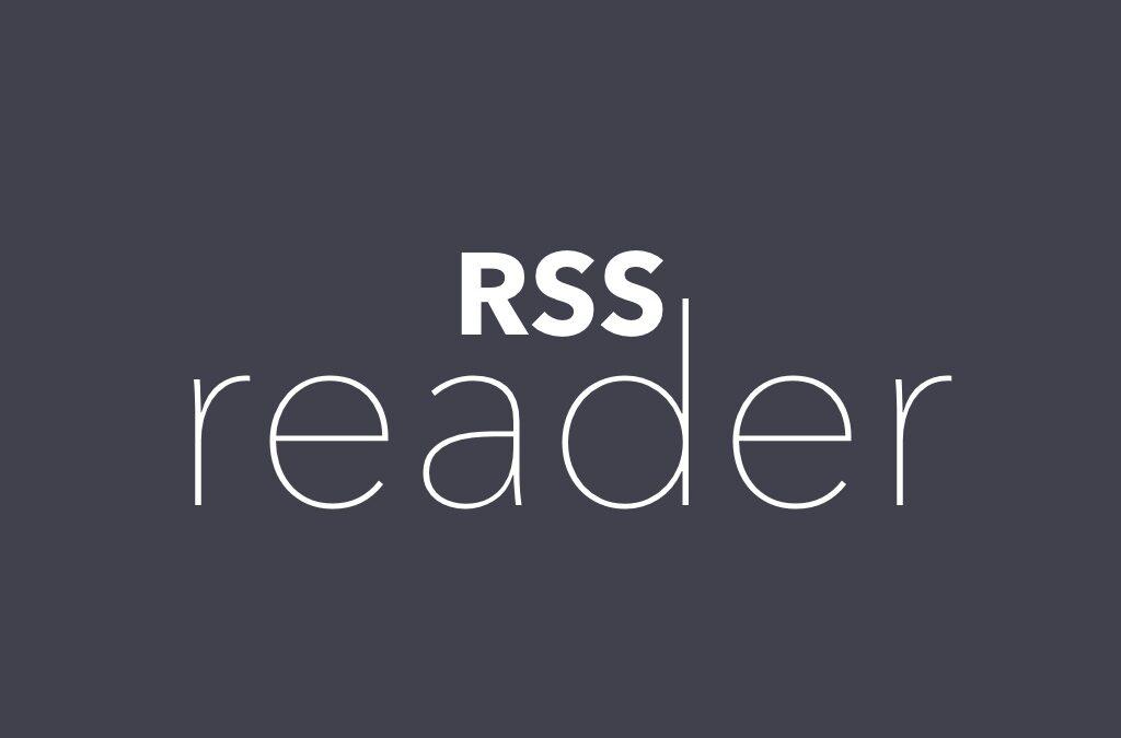 Announcing RSS reader plugin
