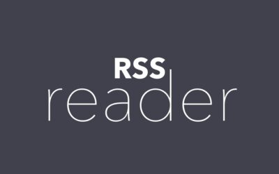Announcing RSS reader plugin