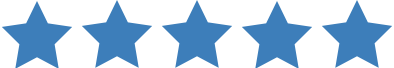 Review Stars for digital signage review rating
