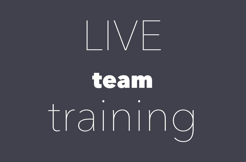 Play Digital Signage Offers LIVE Team Training