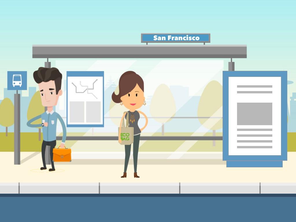 Digital Signage for Transportation