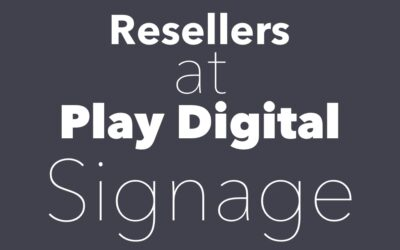 Work With Play Digital Signage