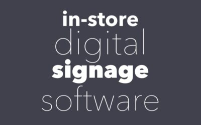 In-Store Digital Signage Software