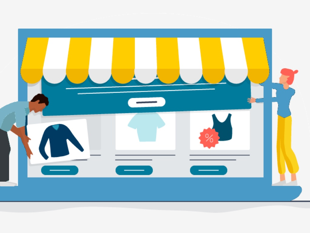 In-store retail digital signage software