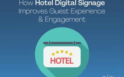 How Hotel Digital Signage Improves Guest Experience & Engagement